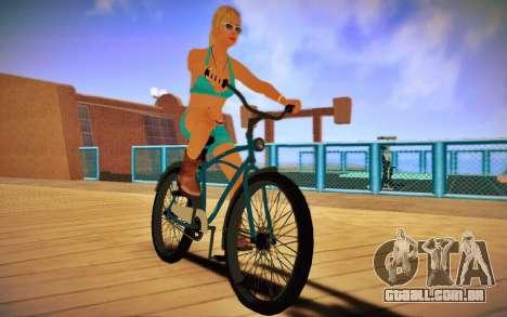 GTA V Cruiser Bike para GTA San Andreas traseira esquerda vista