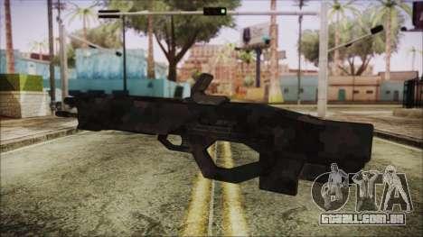Cyberpunk 2077 Rifle Camo para GTA San Andreas segunda tela