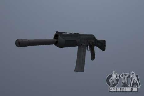 Saiga-12 para GTA San Andreas segunda tela