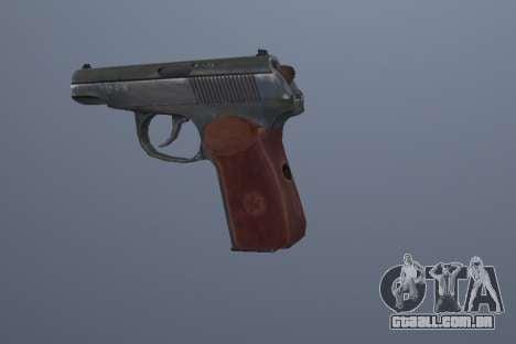 A Pistola Makarov para GTA San Andreas terceira tela