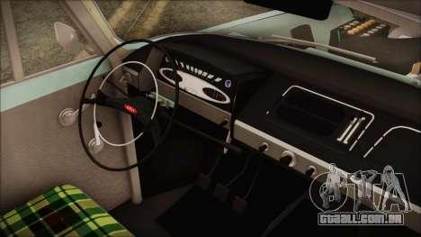 Moskvich 427 Rally v0.5 para GTA San Andreas vista direita