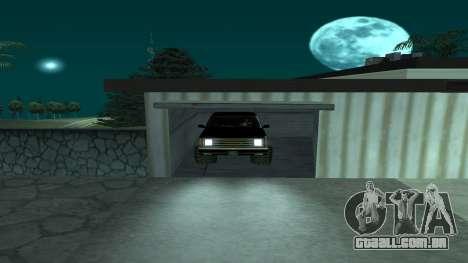 FBIranch By MarKruT para GTA San Andreas vista traseira