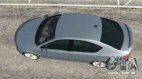 GTA 5 Skoda Octavia VRS 2014 [hatchback] voltar vista
