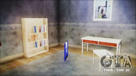 CJ House New Interior para GTA San Andreas terceira tela
