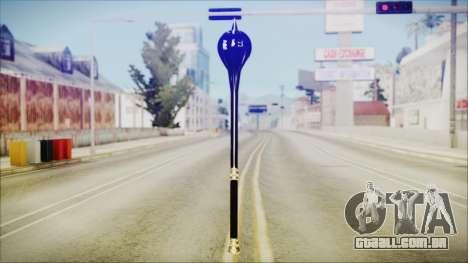 Bulat Steel Mace para GTA San Andreas segunda tela