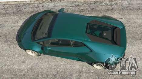 GTA 5 Lamborghini Huracan [LibertyWalk] v1.1 voltar vista
