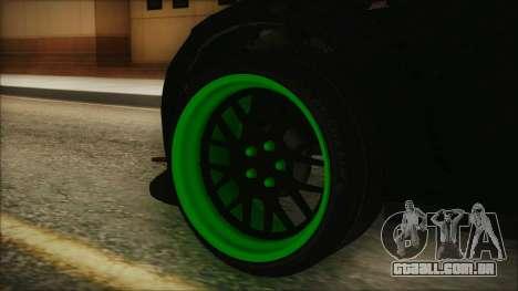 GTA 5 Sentinel RS para GTA San Andreas traseira esquerda vista