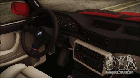 BMW M5 E28 1988 para GTA San Andreas vista direita