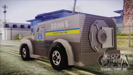 Hot Wheels Funny Money Truck para GTA San Andreas esquerda vista