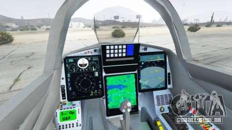 GTA 5 Saab JAS 39 Gripen NG FAB [Beta] quinta imagem de tela