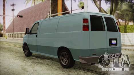 GTA 5 Bravado Rumpo para GTA San Andreas esquerda vista