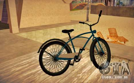 GTA V Cruiser Bike para GTA San Andreas esquerda vista