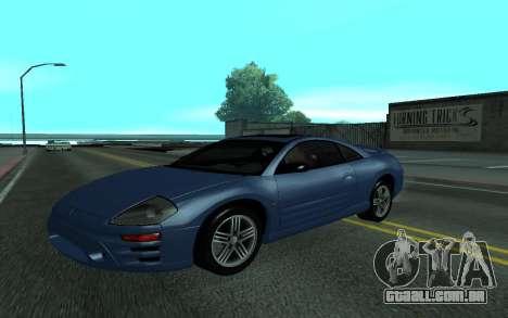 Mitsubishi Eclipse GTS Tunable para GTA San Andreas