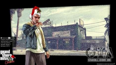 GTA 5 Natal telas de carregamento terceiro screenshot