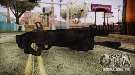 Cyberpunk 2077 Rifle Camo para GTA San Andreas