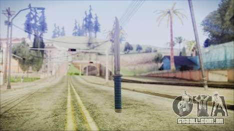 GTA 5 Knife v2 - Misterix 4 Weapons para GTA San Andreas segunda tela