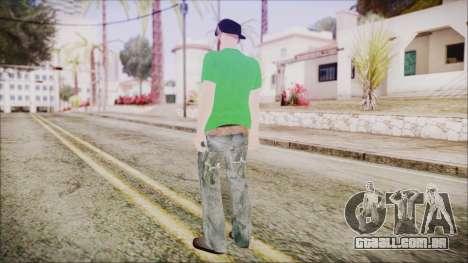 GTA Online Skin 16 para GTA San Andreas terceira tela