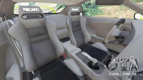 GTA 5 Toyota Supra JZA80 vista lateral direita