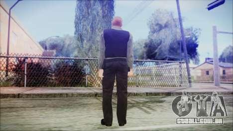 GTA 5 Ammu-Nation Seller 3 para GTA San Andreas terceira tela