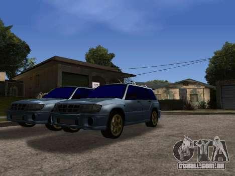 Subaru Forester 1998 para GTA San Andreas