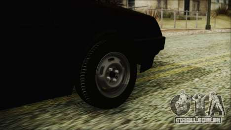 VAZ 2109 para GTA San Andreas traseira esquerda vista
