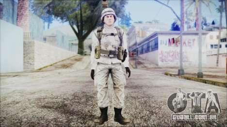 World In Conflict US Marine Winter para GTA San Andreas segunda tela