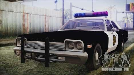 Dodge Monaco 1974 LVPD para GTA San Andreas
