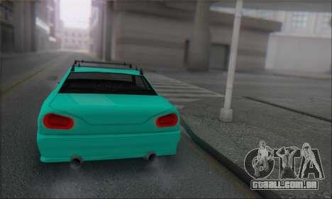 Elegy Min.Korch para GTA San Andreas vista direita