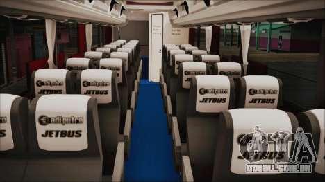JetBus Marissa Holiday para GTA San Andreas vista direita