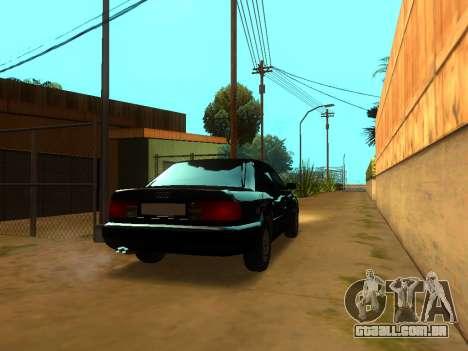 Audi 100 C4 1994 para GTA San Andreas traseira esquerda vista