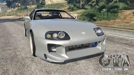 Toyota Supra JZA80 v1.1 para GTA 5