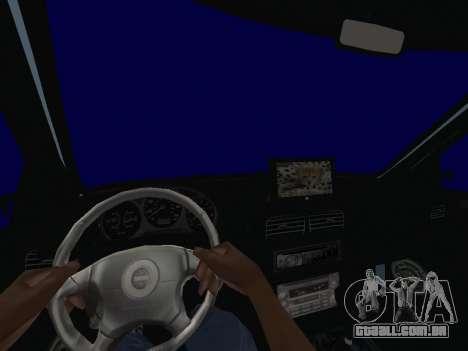 Subaru Forester 1998 para GTA San Andreas vista traseira