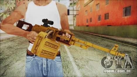 GTA 5 MG from Lowrider DLC para GTA San Andreas terceira tela