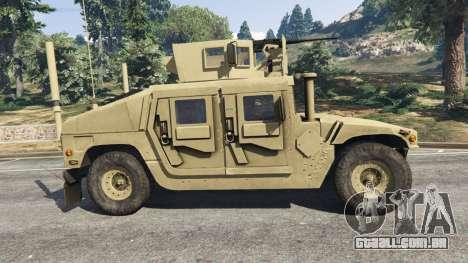 HMMWV M-1116 [desert] para GTA 5