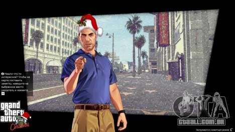 GTA 5 Natal telas de carregamento segundo screenshot