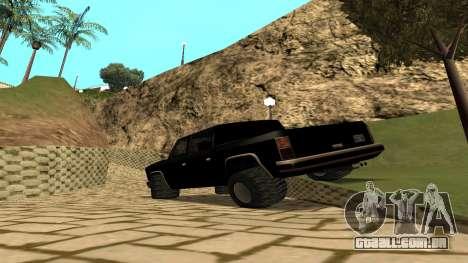 FBIranch By MarKruT para GTA San Andreas esquerda vista