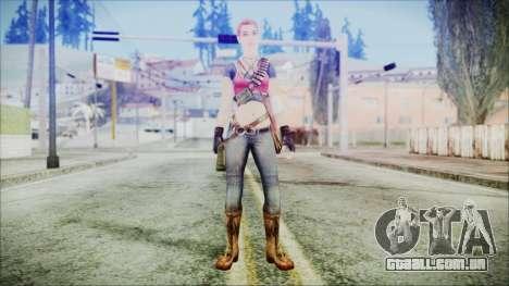 Evelyn from Contract Killer Zombies para GTA San Andreas segunda tela