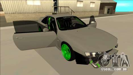 Nissan Silvia S14 Drift Monster Energy para GTA San Andreas vista inferior
