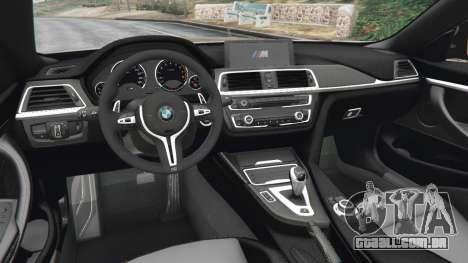 BMW M4 2015 v1.1 para GTA 5