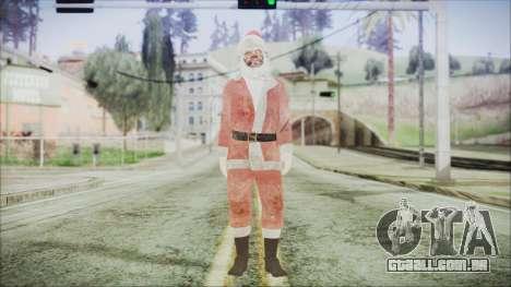 GTA 5 Santa Sucio para GTA San Andreas segunda tela