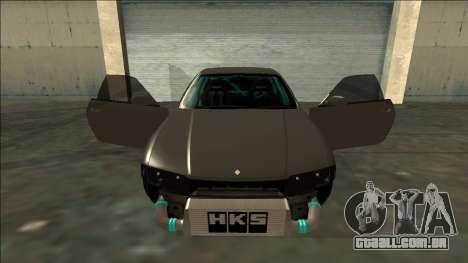 Nissan Skyline R33 Drift para GTA San Andreas vista superior