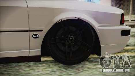 Audi 80 B4 RS2 New para GTA San Andreas traseira esquerda vista