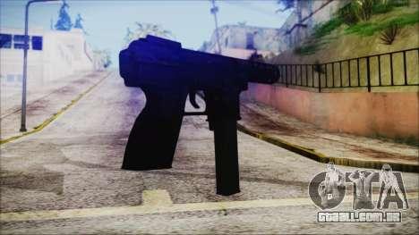 TEC-9 Multicam para GTA San Andreas segunda tela
