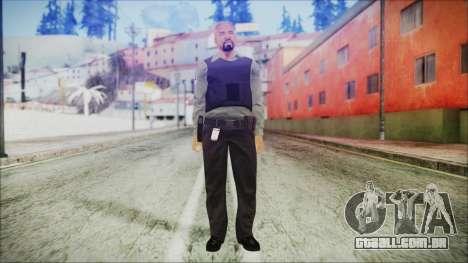 GTA 5 Ammu-Nation Seller 3 para GTA San Andreas segunda tela
