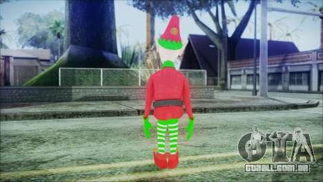 Christmas Elf v1 para GTA San Andreas terceira tela