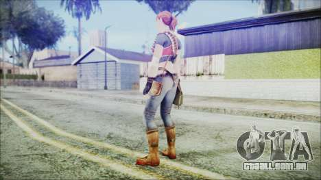 Evelyn from Contract Killer Zombies para GTA San Andreas terceira tela