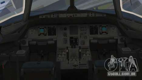 Airbus A320-200 Etihad Airways Abu Dhabi Grand para GTA San Andreas vista direita