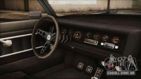 Imponte Nightshade para GTA San Andreas vista direita