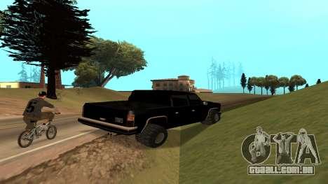 FBIranch By MarKruT para GTA San Andreas vista direita