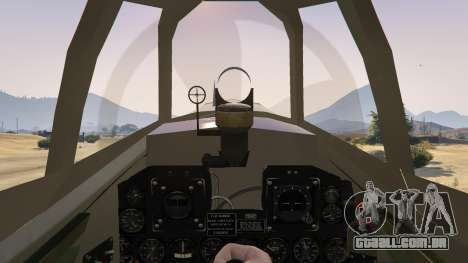 GTA 5 P-47D Thunderbolt quarto screenshot